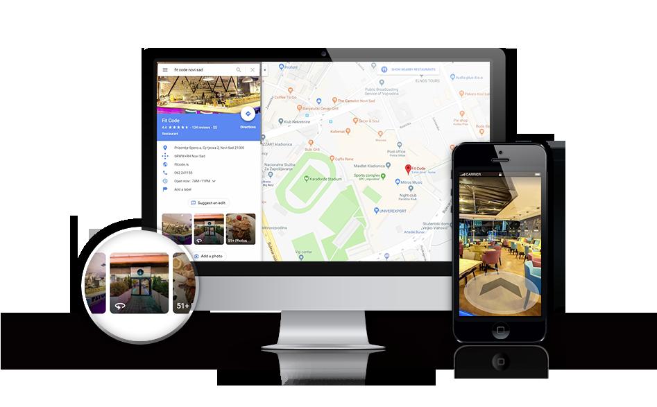Virtuelne ture - Objavljivanje virtuelnih tura na Google Maps